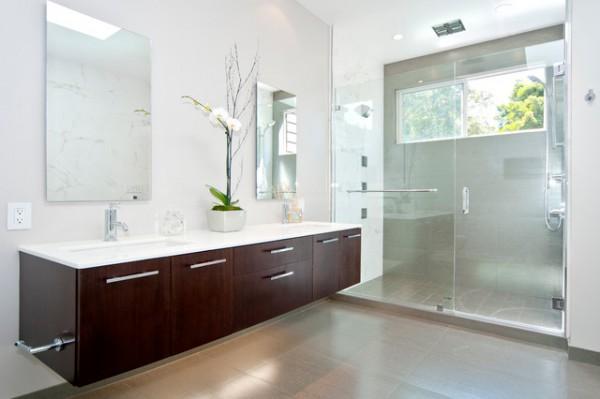 Contemporary Cantileverd Bathroom Vanity