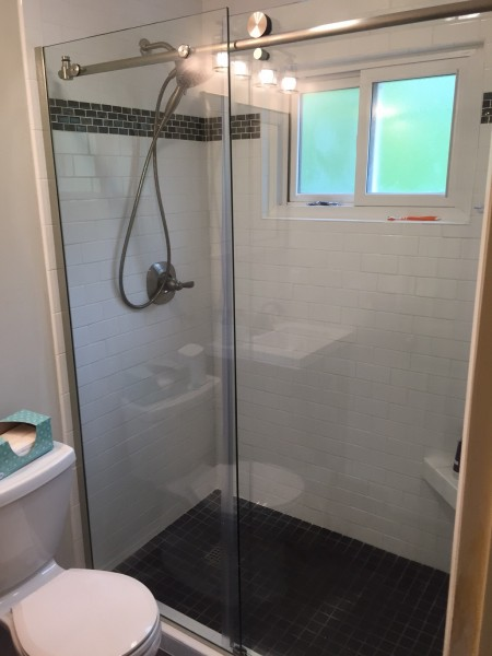 Sliding Barn Door Shower