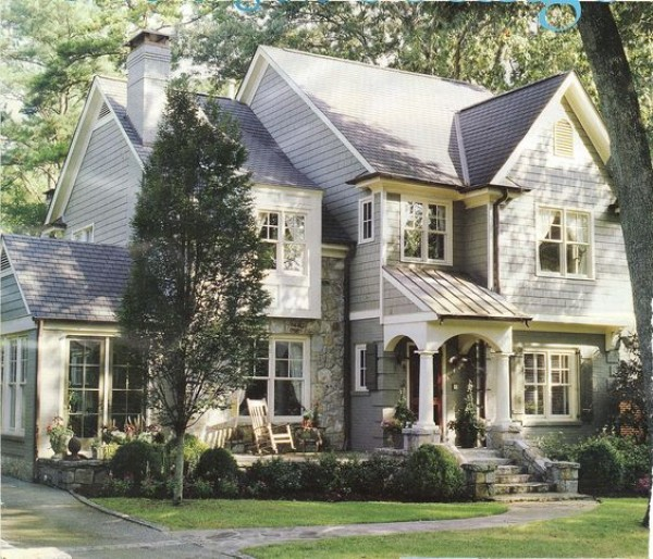 Home with Double Hung WIndows