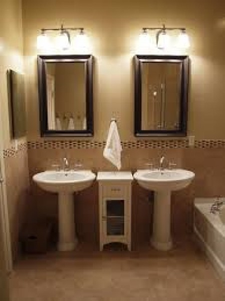 Pedestal Sink Mirrors