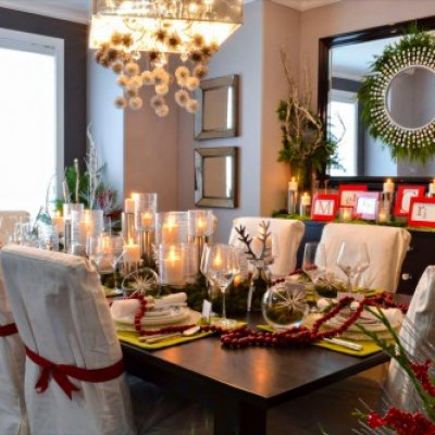 Festive Holiday Dining Room Design