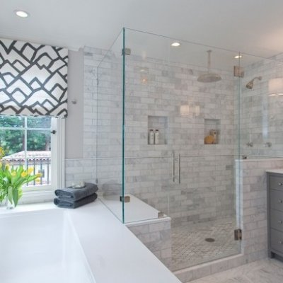 European Frameless Shower